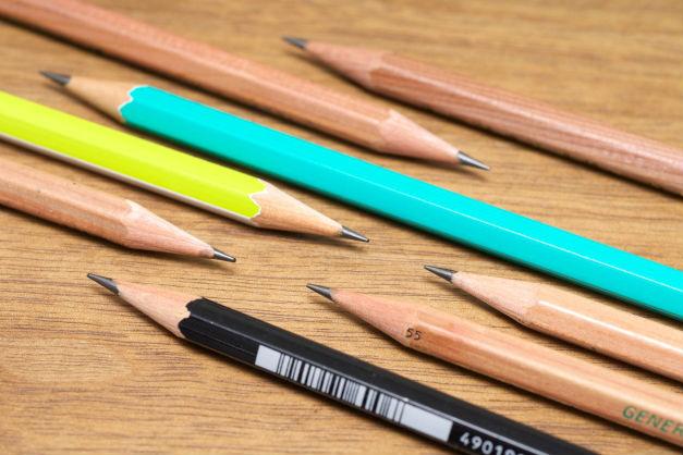 マークシート方式には鉛筆を!